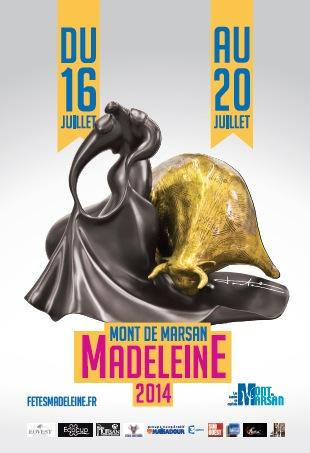 Affiche madeleine 2014