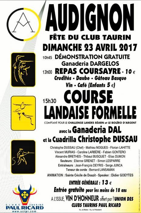 Audignon 23 avril 2017