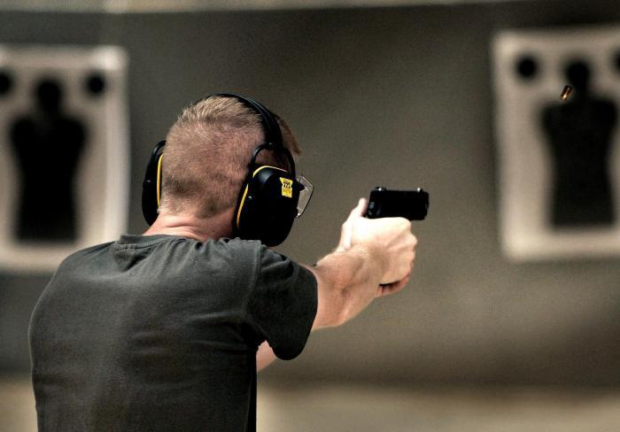 Entrainement au tir