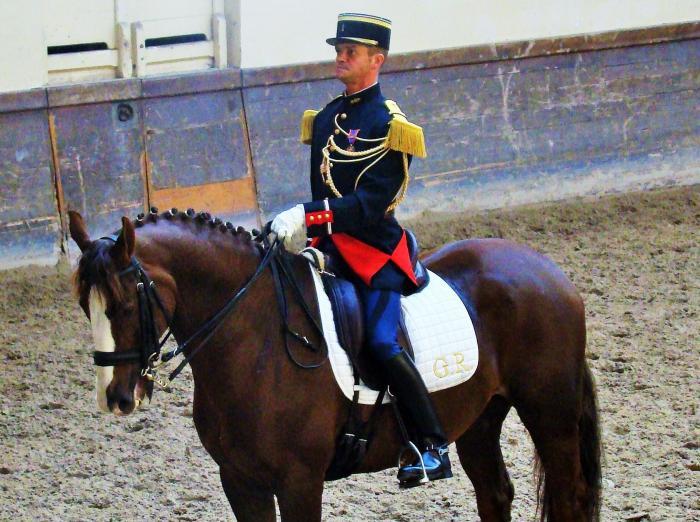 Reprise solo equitation academique avec serge cantin