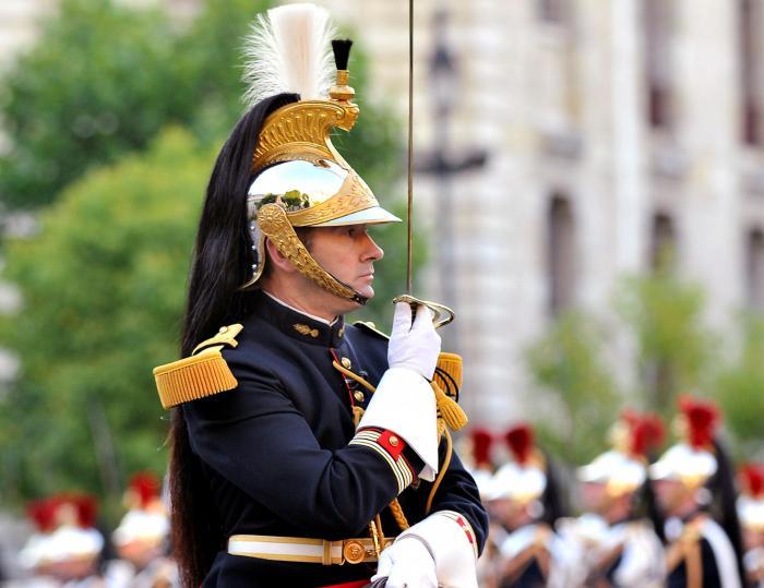 Revue des troupes 14 juillet