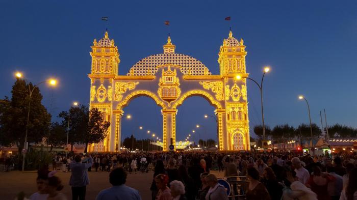 Seville entree de la feria